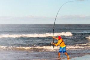 panama city beach surf fishing in february